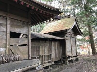 千葉県日吉神社の本殿