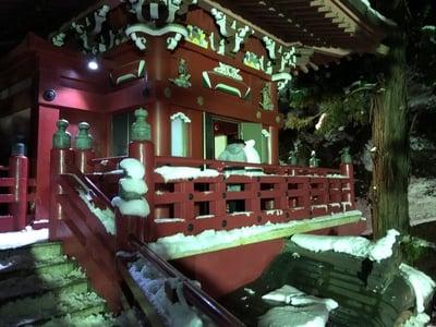 福島県大正寺(中野不動尊)の本殿