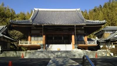 普門寺の本殿