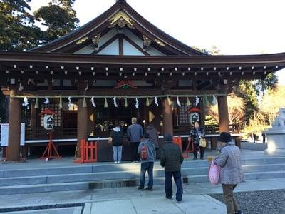 茨城県八幡宮の本殿