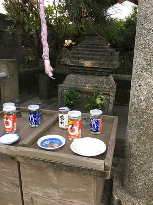 神奈川県楫の三郎山神社の本殿