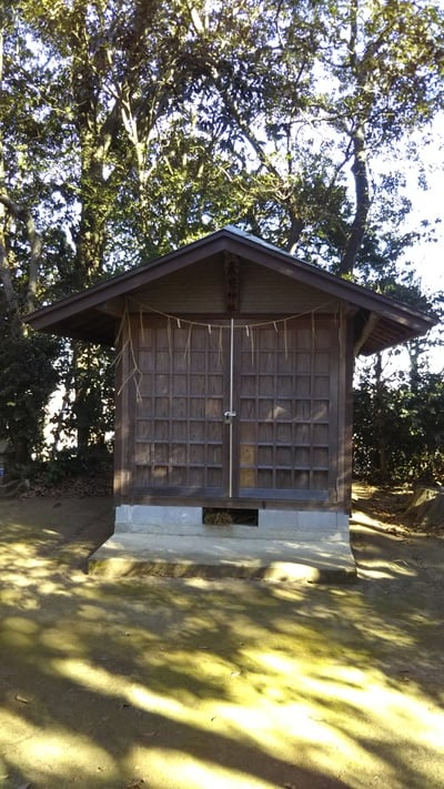茨城県素鵞神社の本殿