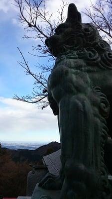武蔵御嶽神社の狛犬