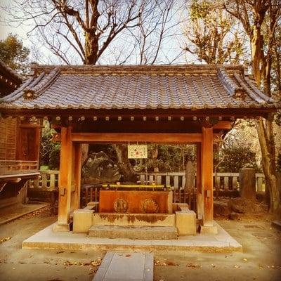 牛嶋神社(東京都本所吾妻橋駅) - 手水舎の写真