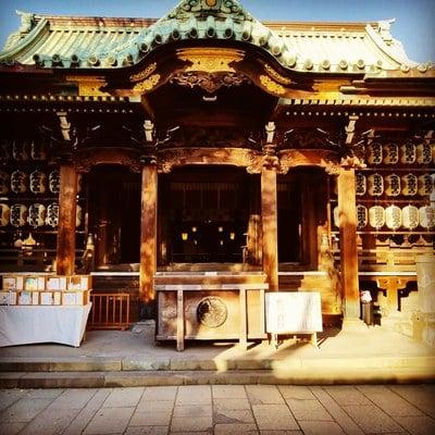 東京都牛嶋神社の本殿