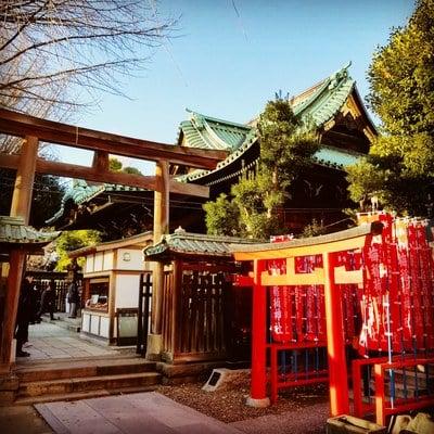 牛嶋神社(東京都本所吾妻橋駅) - 鳥居の写真
