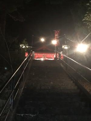 宮崎県椎葉厳島神社の写真