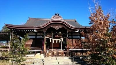 山梨県御崎神社の写真