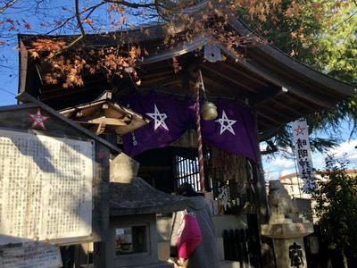 名古屋晴明神社の本殿