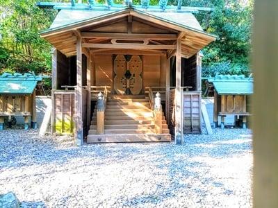 愛知県白山社(小鈴谷白山神社)の本殿