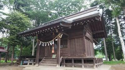 東京都下宿八幡神社の本殿