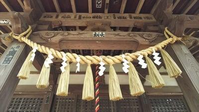 東京都上宮稲荷神社の本殿