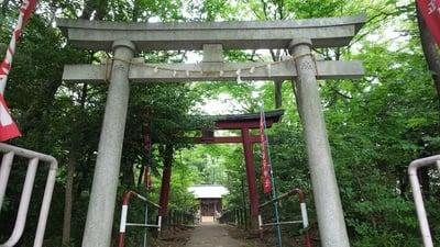 東京都松宮稲荷神社の鳥居