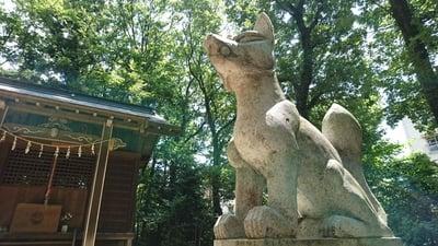 東京都松宮稲荷神社の写真
