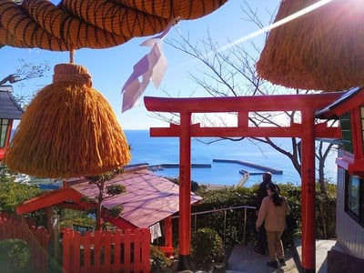 荒熊神社の鳥居