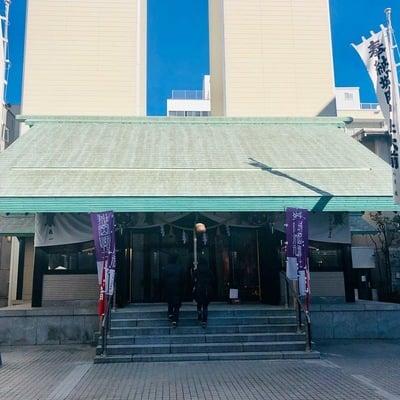 静岡県城岡神社の本殿