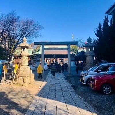 静岡県浅間神社の鳥居