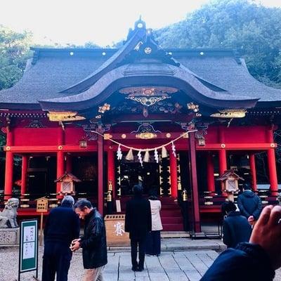 愛知県六所神社の本殿