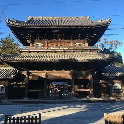 愛知県大樹寺の山門