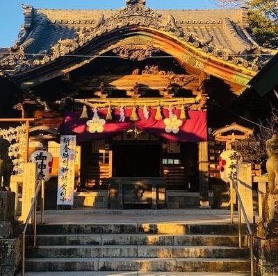 岡崎天満宮の本殿