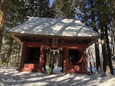 長野県戸隠神社奥社の本殿