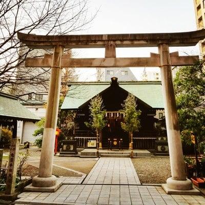 蔵前神社の鳥居