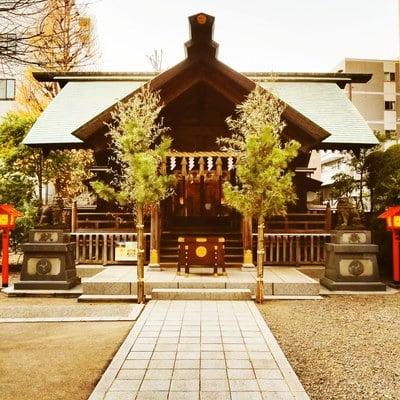蔵前神社の本殿