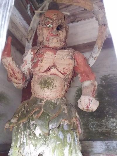 日龍峯寺(高澤観音)(美濃清水)の像