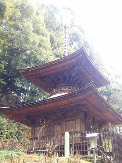 日龍峯寺(高澤観音)(美濃清水)の塔