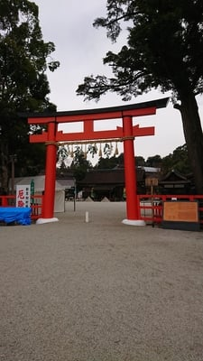 京都府賀茂別雷神社(上賀茂神社)の鳥居