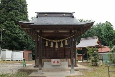 神奈川県鹿嶋神社の本殿