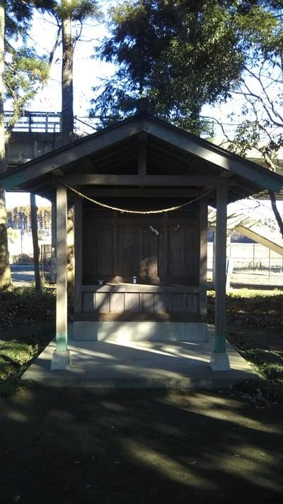 茨城県後台稲荷神社の本殿