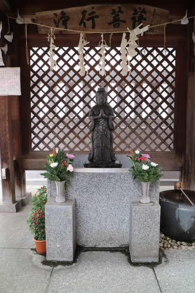 善國寺(東京都牛込神楽坂駅) - 仏像の写真