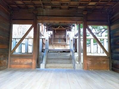愛知県八幡社(大塚八幡社)の本殿