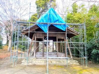 三宮社の近くの神社お寺 白髭社