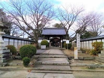 愛知県大塚山 性海寺の山門