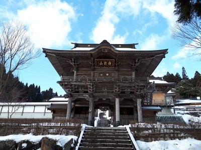 法雲寺(岩手県金ケ崎駅) - 本殿・本堂の写真
