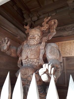 法雲寺(岩手県金ケ崎駅) - 像の写真