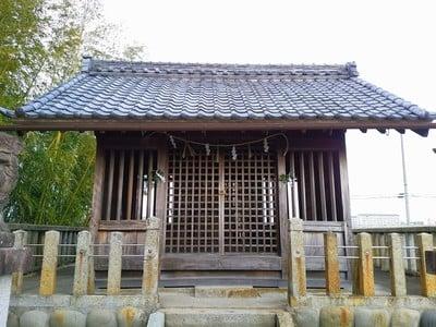 日吉社の本殿