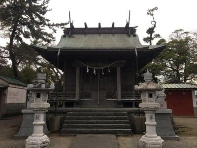 神奈川県山王神社の本殿