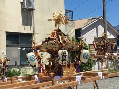 神奈川県千度小路龍宮神社のお祭り
