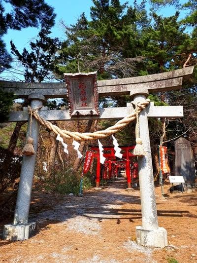 岩手県花巻温泉稲荷神社の鳥居