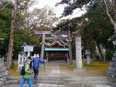 愛知県白山社(寺切白山社)の鳥居