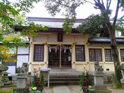 白山社(寺切白山社)の本殿