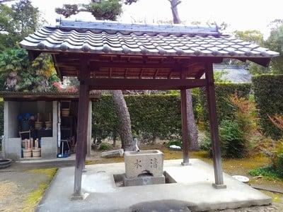 奥田山 安楽寺の手水