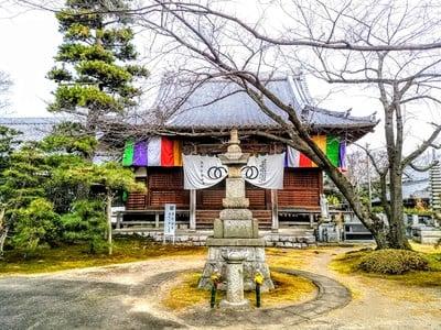 愛知県奥田山 安楽寺の本殿
