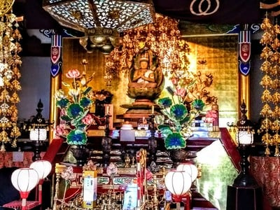 奥田山 安楽寺の仏像