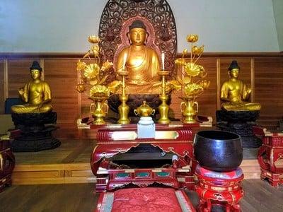 愛知県奥田山 安楽寺の写真