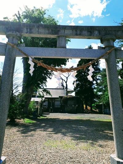 岩手県三ツ石神社の鳥居