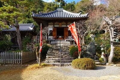 京都府二尊院の本殿